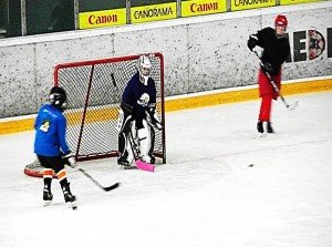 Hockey goal scoring and shooting drills practices training