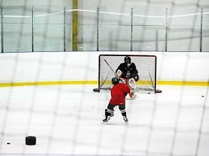 Hockey skill drill practice
