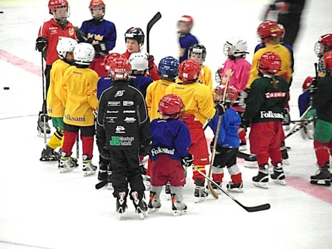 Hockey practices for 7 years old